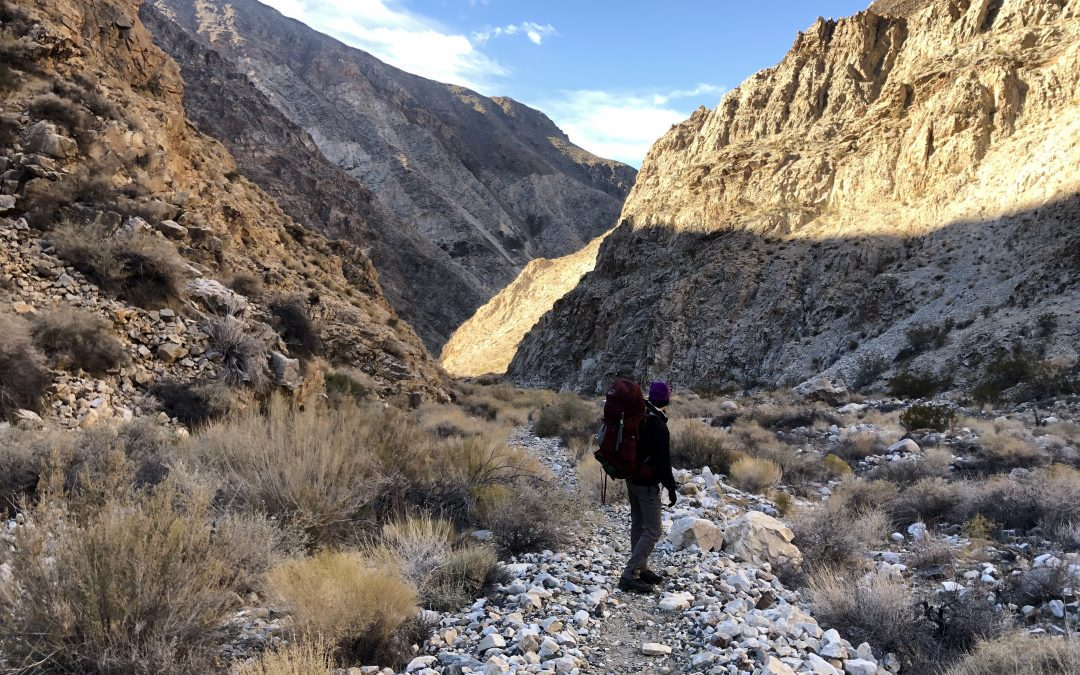 Panamint City Hike, Death Valley
